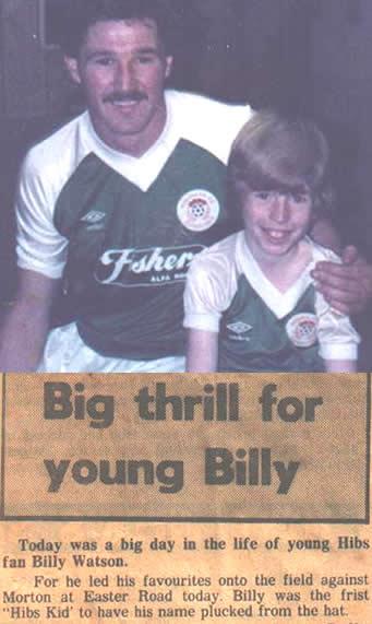 Billy Hibs Mascot