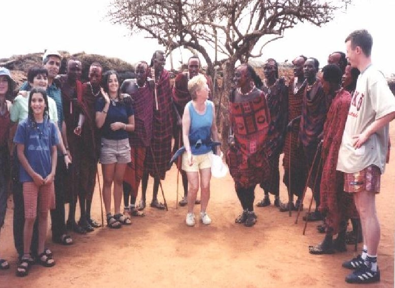 Dancing with tribe