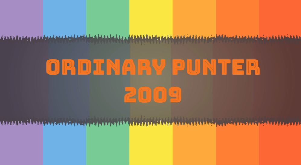ordinary punter 2009